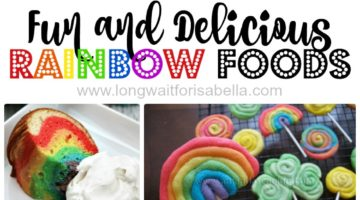 Fun and Delicious Rainbow Food Ideas!