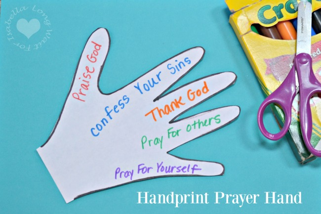 Children's Ministry: The Lords Prayer Bible Craft Bracelet
