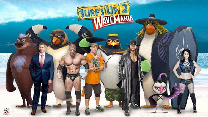 Family Movie Night with Surf's Up 2: Wavemania