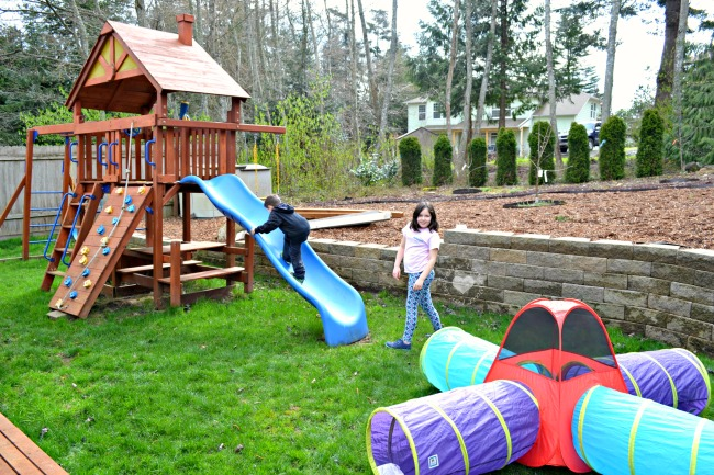 Get Outside! Backyard Kids Obstacle Course Ideas