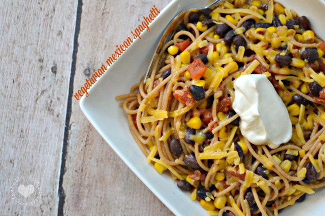A Simple and Delicious Vegetarian Mexican Spaghetti Recipe