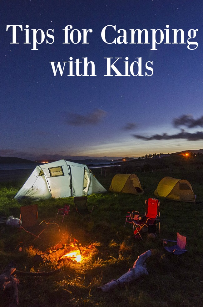5 Practical Tips for Camping with Kids