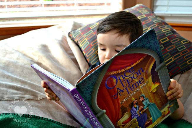 The Bible for Kids: Once Upon a Time Storybook Bible