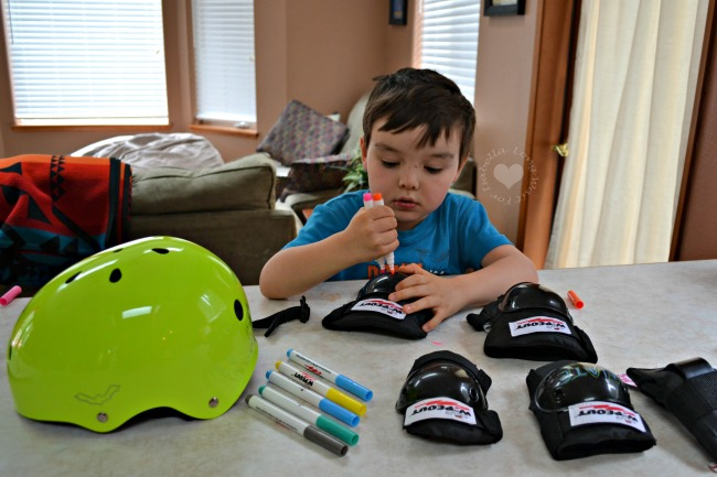 The Kids Will Want to Wear This Protective Gear!