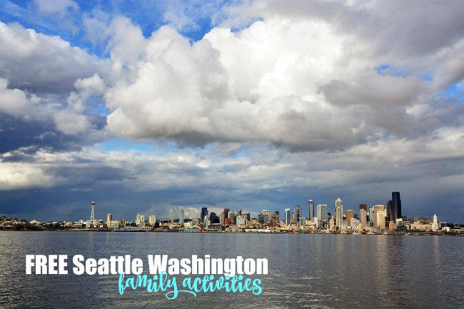 FREE Seattle Washington Family Activities