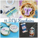 Great Kids Craft Idea and Gift: DIY Keychains