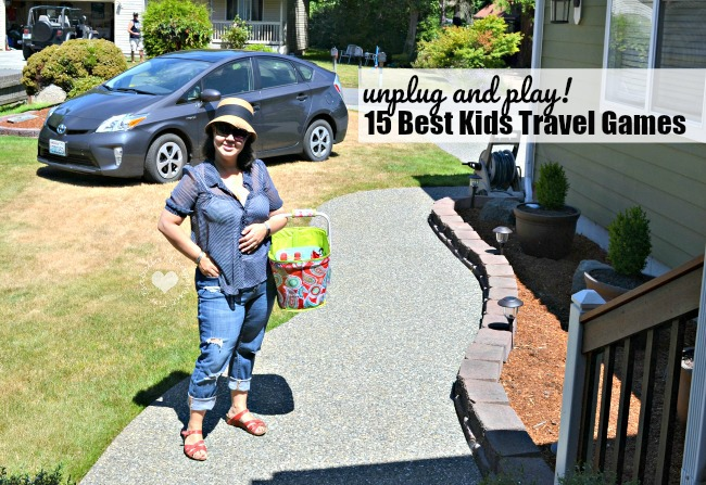 Family Road Trip: The Best Kids Travel Games