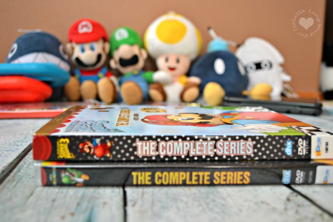 Super Mario World and Adventures Of Super Mario Brothers 3 on DVD