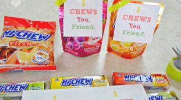 """HI-CHEW """"I CHEWS You, Friend!"""" Back to School Gift"""
