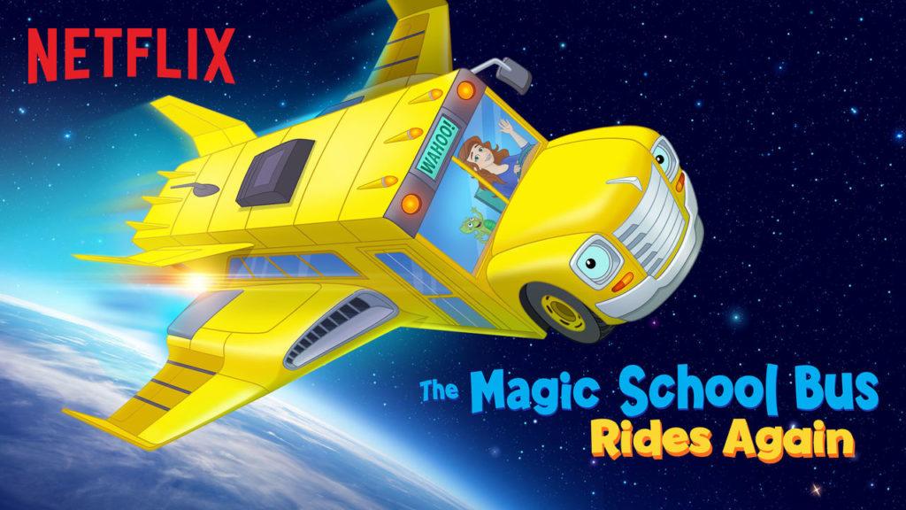Magic School Bus Rides Again on Netflix!