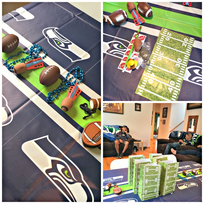 Our Seattle Seahawks Party A Family