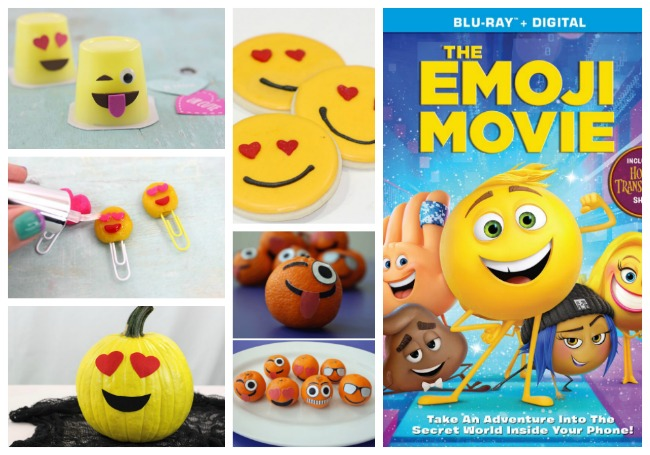 Everything Emoji for the Blu-ray Release of the Emoji Movie!