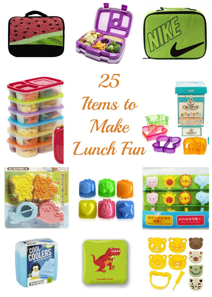 25 Items to Make Lunch Fun for the Kids this Year!