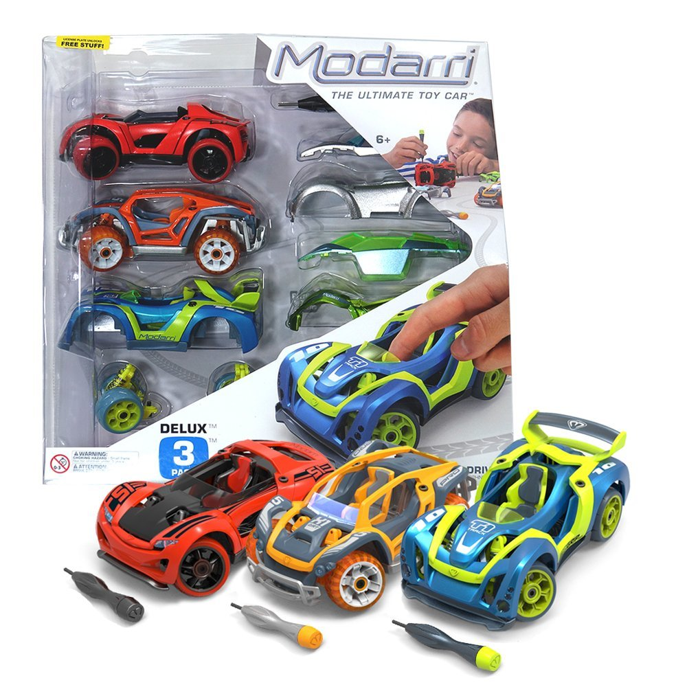 Modarri: The Ultimate Toy Car (Build It Yourself