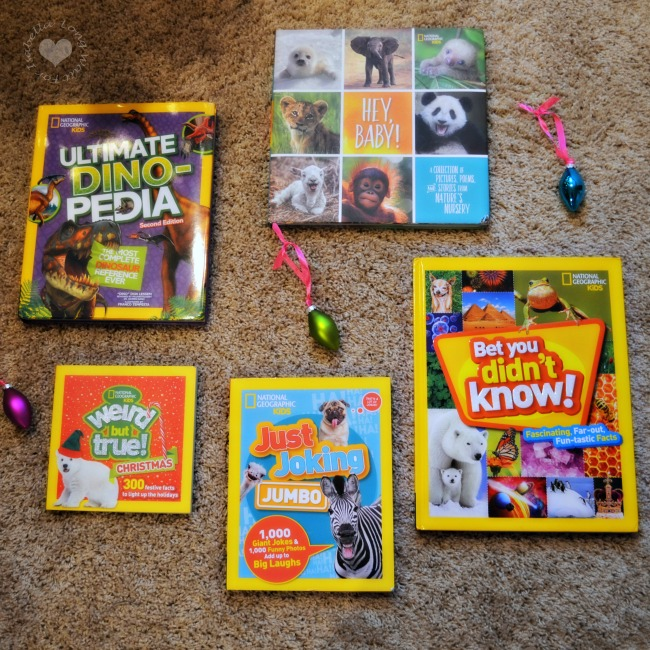 National Geographic Kids Books Make the BEST Gifts!