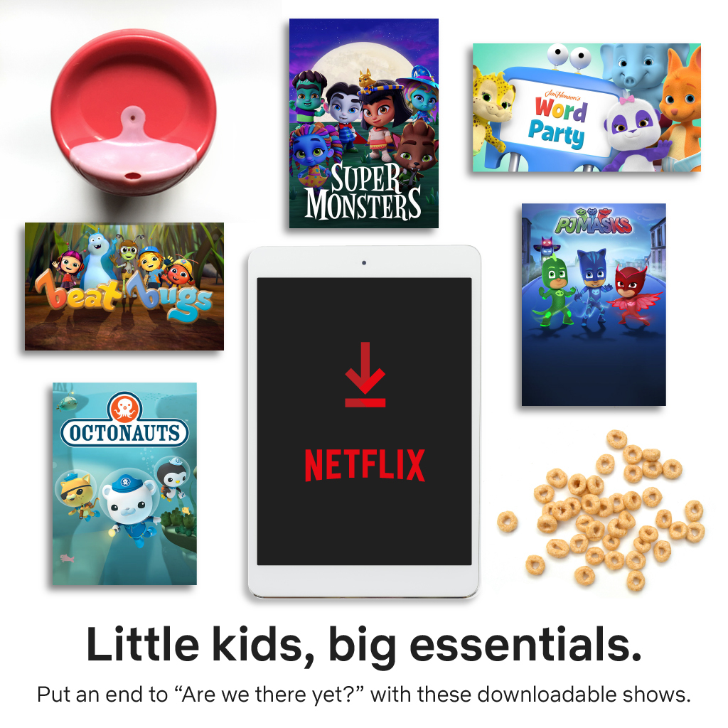 Family Travel? Stay Sane with Netflix On the Go