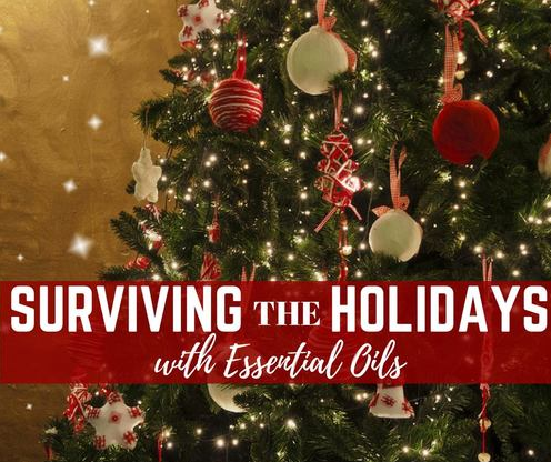 Holiday Essential Oils You Need in the Home!