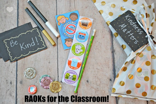 Random Acts of Kindness for Kids in the Classroom
