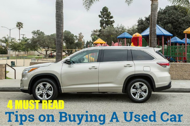 Four Must Read Tips for Buying a Used Car