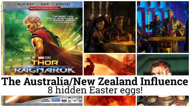 The Australia/New Zealand Influence in Thor: Ragnarok (8 Easter Eggs!)