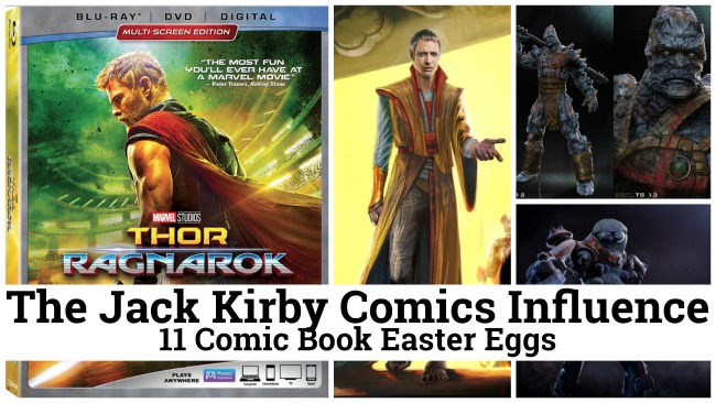 Thor Ragnarok and the Jack Kirby Comics Influence