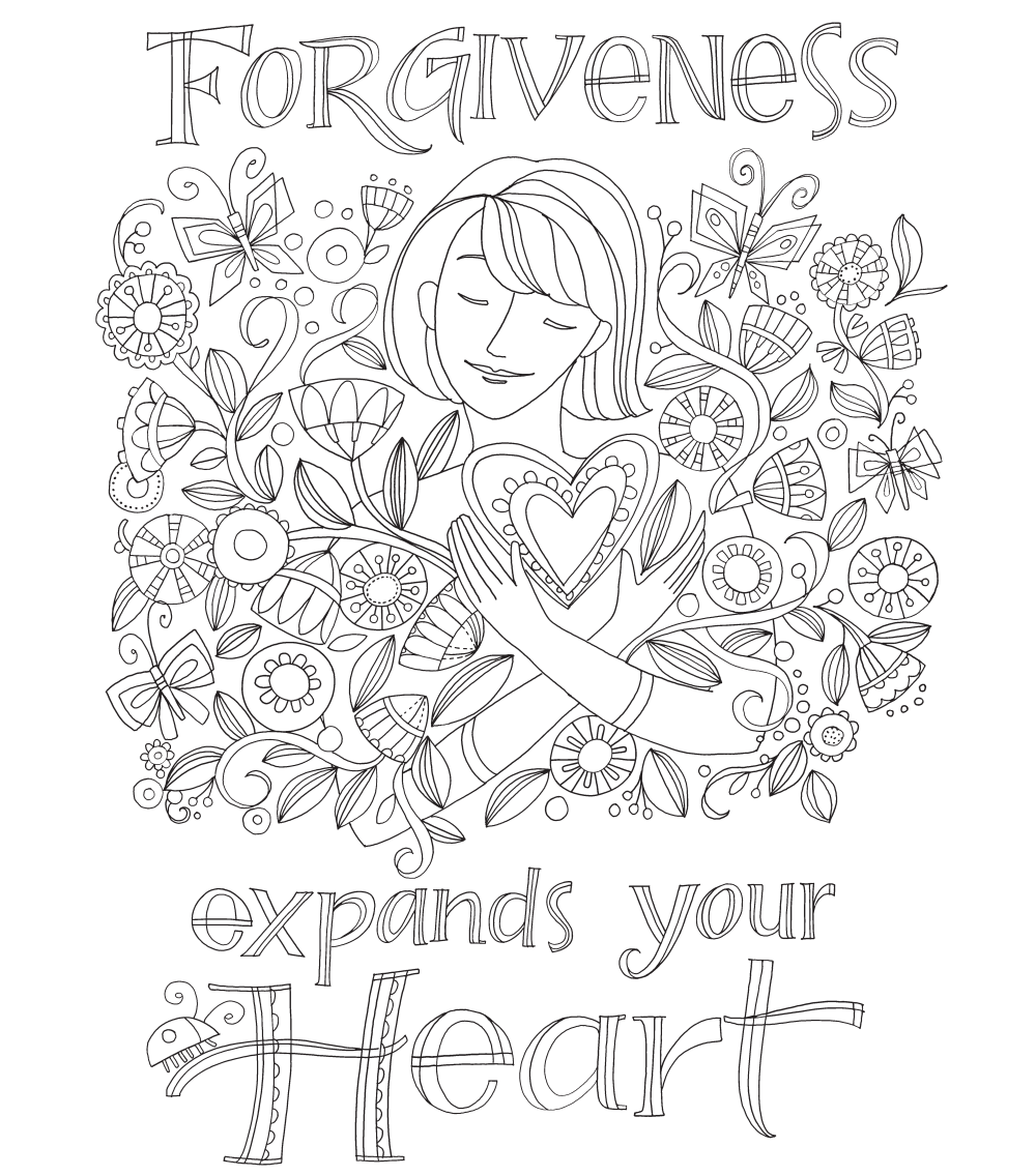 Forgiveness Coloring Page Long Wait For Isabella