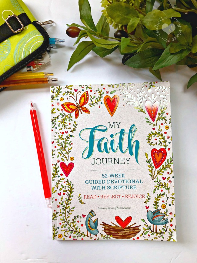 My Faith Journey: 52-Week Guided Devotional