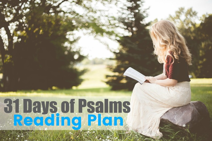 31 Days of Psalms Reading Plan (FREE)
