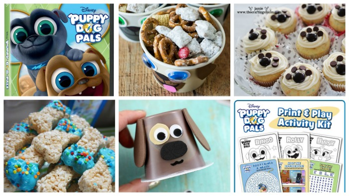 Disney Junior Puppy Dog Pals Birthday Party Ideas