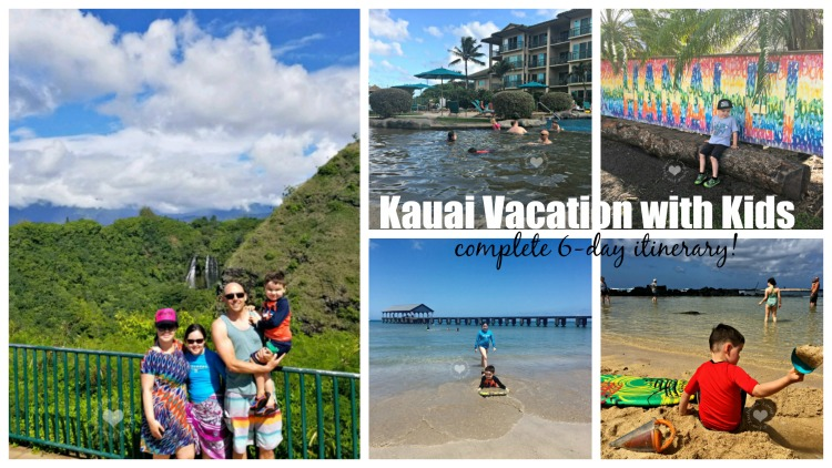Kauai Vacation: One Week in Kauai with Kids