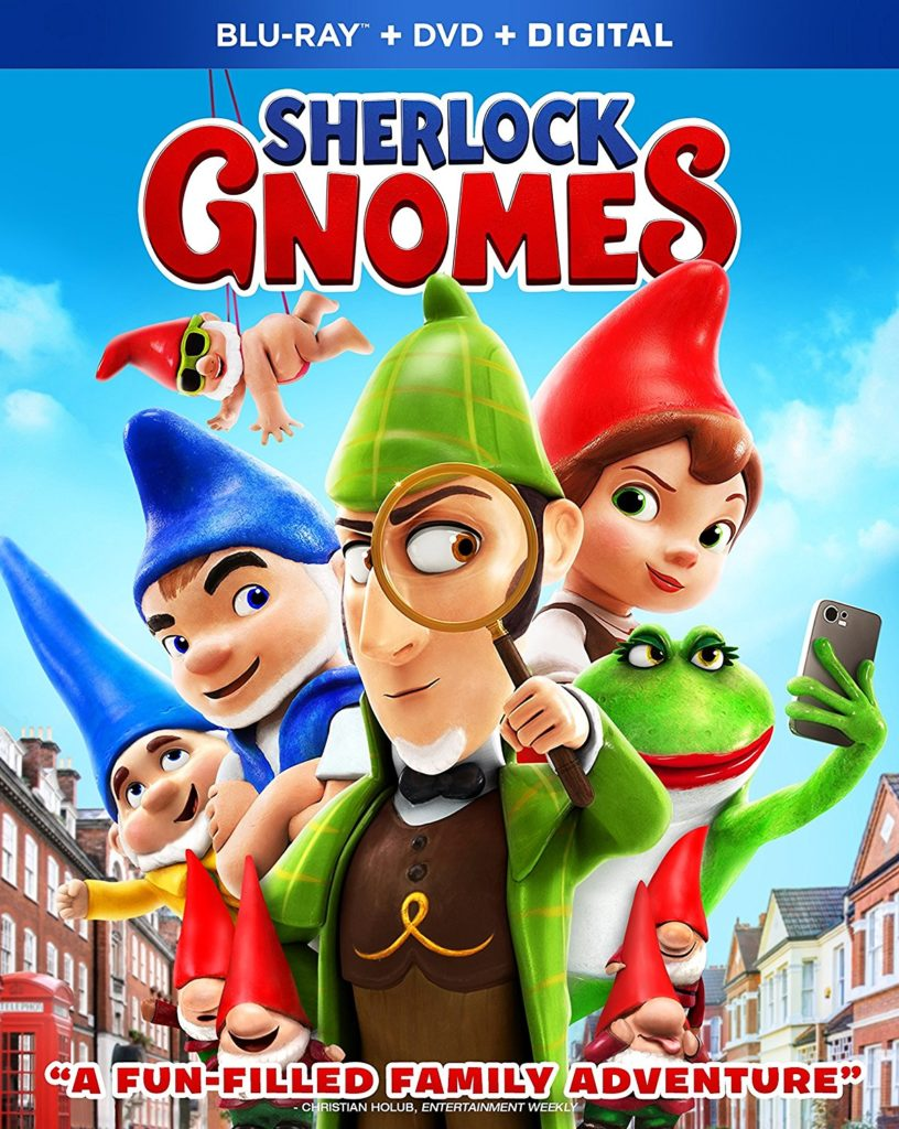 My Kids Gave Sherlock Gnomes a 10! They Loved It!
