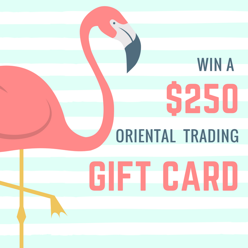 $250 Oriental Trading Gift Card Giveaway