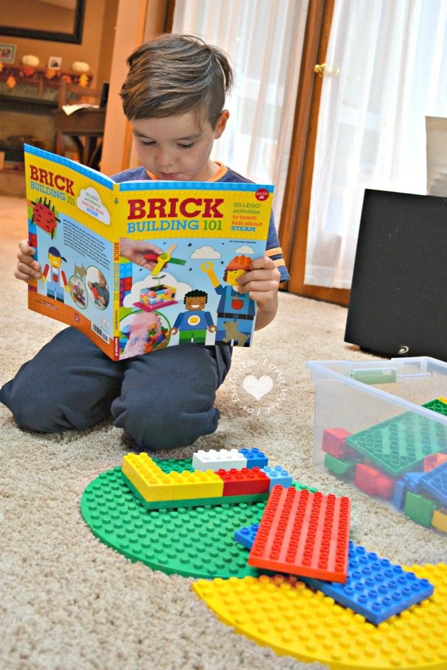 Brick Building 101- STEAM Learning and LEGO? Yes, Please!