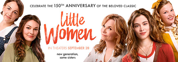 Celebrate the 150 Year Anniversary Little Women Book with a New Movie