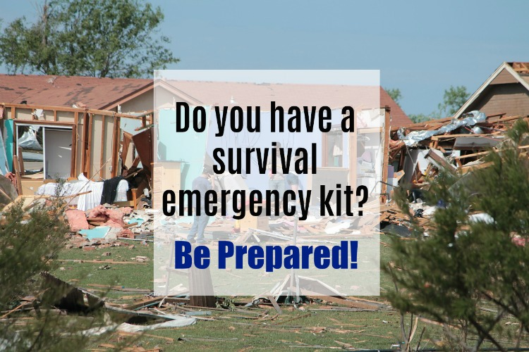Do you have a survival emergency kit? Here's How to Prepare!