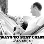 ways to stay calm