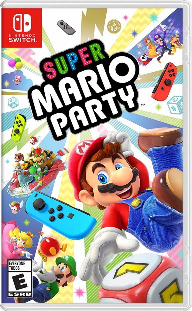 Nintendo Switch Super Mario Party is Available Now!