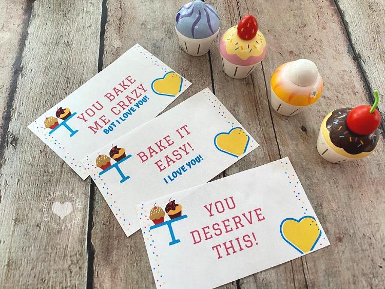 Cupcake Cards -  Cupcake Puns