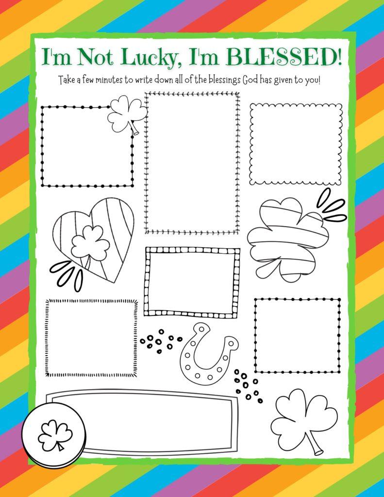 Printable Gratitude Journal Page